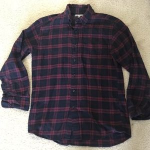 UNIQLO Red & Black Flannel